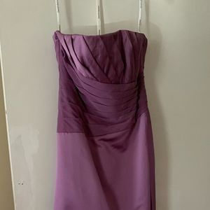 NWT David's Bridal - Purple Bridesmaids Dress
